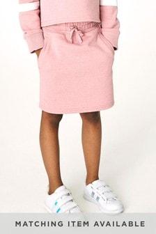 Pink Jersey Sweat Skirt (3-16yrs)