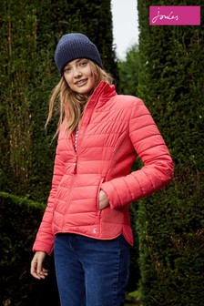 Joules Red Harrogate Padded Jacket