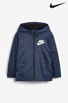 Nike Little Kids Navy Fleece Lined Jacket