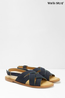 White Stuff Blue Orla Strappy Sandals