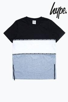 Hype. Black Tape 3 Panel Kids T-Shirt