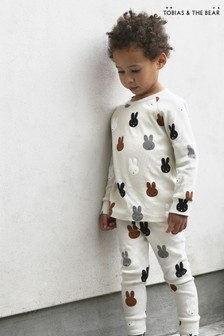 Tobias & The Bear Birch Grey Miffy & Friends Long T-Shirt