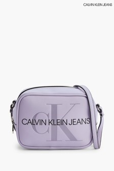 Calvin Klein Jeans Purple Camera Bag