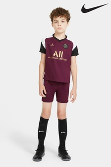 Nike Burgundy PSG Third 20/21 Kids Mini Kit
