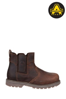 Amblers Safety Brown FS165 Pull-On Safety Dealer Boots
