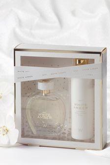 White Amber Eau De Parfum Gift Set 100ml