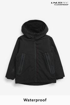 Black Fully Waterproof Jacket (3-17yrs)