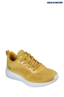 Skechers® Yellow Bobs Squad Tough Talk Trainers