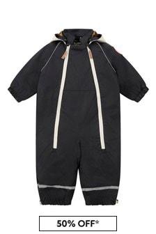 Baby Black Alaska Panda Overall