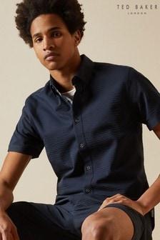 Ted Baker Pratiss Seersucker Shirt
