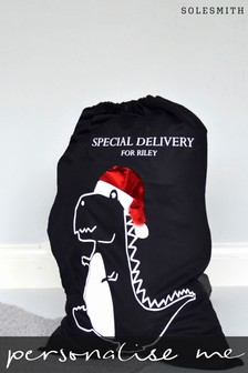 Personalised Dinosaur Christmas Sack by Solesmith