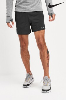 "Nike Black Flex Stride 5"" Shorts"