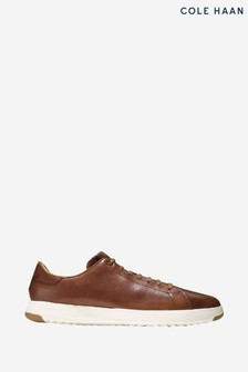Cole Haan Brown Grandpro Tennis Trainers