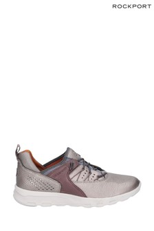 Rockport Metallic Lets Walk Bungee Trainers