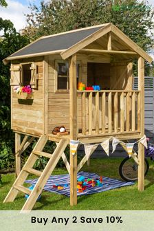 Lookout Playhouse With Assembly By Rowlinson