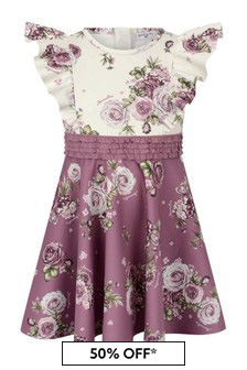 فستان نيوبرين بيج/وردي ورود بناتي