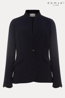 Damsel In A Dress Blue Nina City Suit Jacket