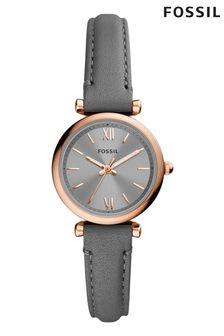 Fossil Grey Carlie Mini Watch