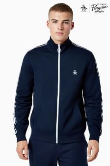 Original Penguin® Blue Earl Full Zip Track Jacket