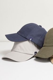 Navy/Grey Caps Two Pack