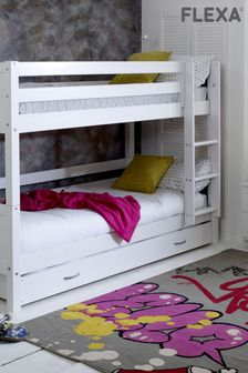 Nordic Bunkbed with Trundle Bed by Flexa