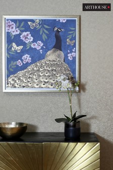 Peacock Capped Canvas by Arthouse