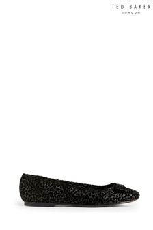 Ted Baker Black Sheilag Flat Shoes