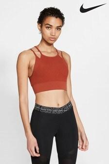 Nike Yoga Indy Novelty Light Support Sports Bra