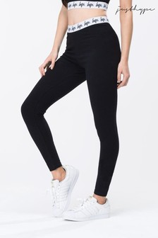 Hype. Black Taped Women's Leggings