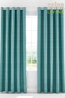 Scion Lintu Birds Lined Eyelet Curtains