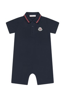 Moncler Enfant Cotton Shortie Romper