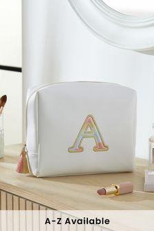 Rainbow Alphabet Cosmetics Bag