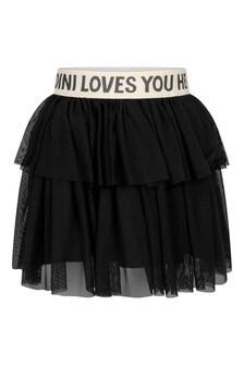 Girls Black Tulle Skirt