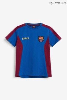 Blue Barcelona Football T-Shirt (3-16yrs)