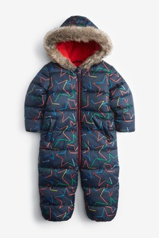 Navy Star Snowsuit (3mths-7yrs)