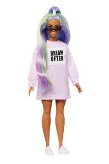 Barbie Fashionista Doll With Long Rainbow Hair