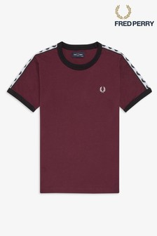 Fred Perry Boys Taped Ringer T-Shirt