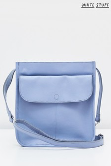 White Stuff Blue Issy Pocket Cross Body Bag