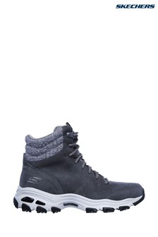 Skechers® Grey D'Lites - Chill Flurry Boots