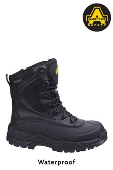 Amblers Safety Black AS440 Hybrid Waterproof Safety Boots