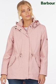 Barbour® Coastal Pink Waterproof Promenade Jacket
