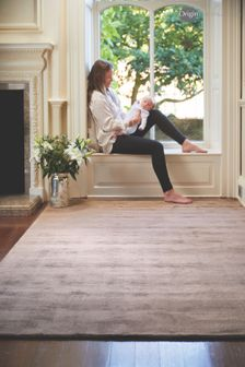 Delano Viscose Silk Look Rug by Origins