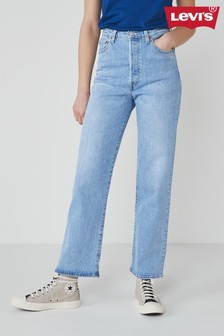 Levi's® Ribcage High Waisted Straight Fit Jeans
