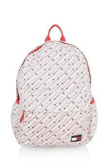 Kids White All Over Print Backpack