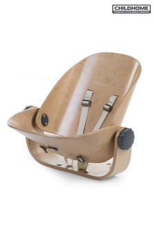 Newborn Highchair Seat For Evolu In Natural And Anthracite By Childhome