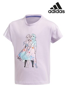 adidas Little Kids Frozen T-Shirt