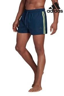 adidas 3 Stripe Classic Swim Shorts