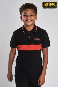 Barbour® International Boys Block Stripe Polo