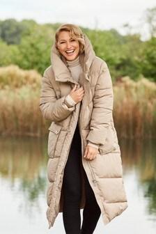 Neutral Emma Willis Long Padded Jacket