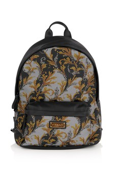 Kids Black/Gold Backpack